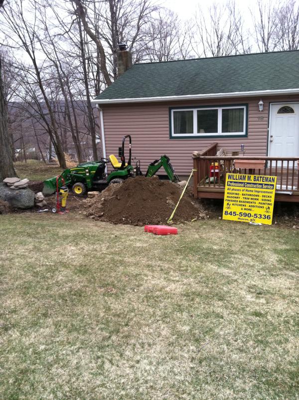 contractor excavation monroe ny