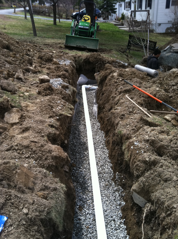 curtain french drain orange county ny