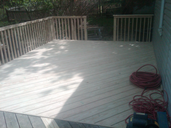 deck extension monroe ny