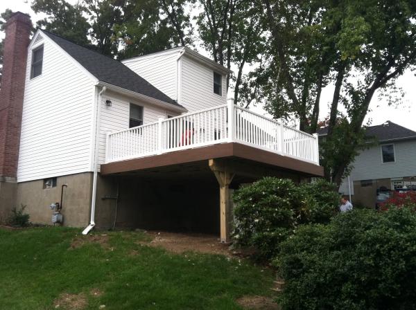 composite timbertech deck builder trex