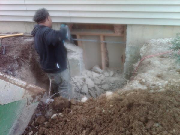 egress drainage monroe ny