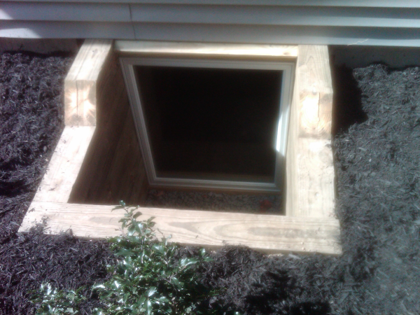 egress window construction