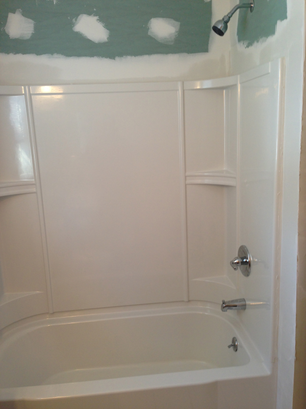 two piece tub shower. Latest News At Wmb Bathrooms Two Piece Tub Surround  Round Designs